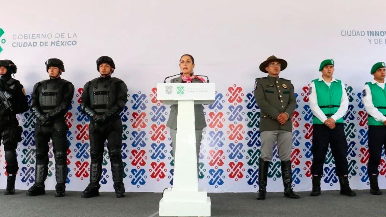 Sheinbaum niega crisis, pero CDMX trabajará de la mano con la Guardia Nacional