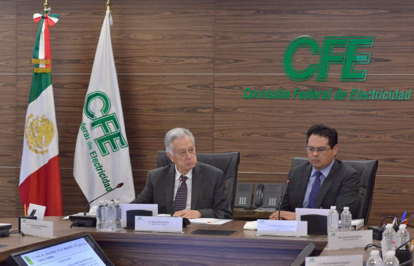 CFE retoma intercambio de gas natural con Pemex
