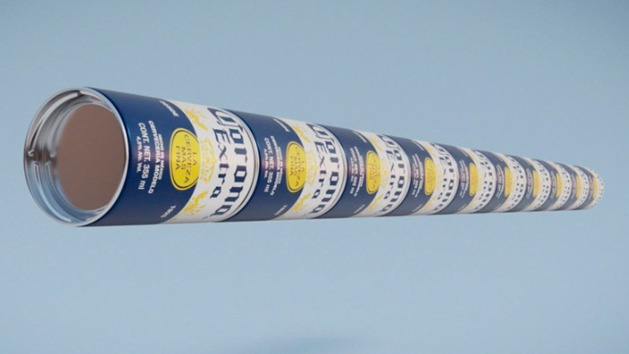 Corona presenta sus latas modulares para ayudar a eliminar el plástico