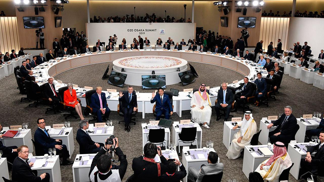 Concluye cumbre del G20 con apoyo a los 'fundamentos del libre comercio'
