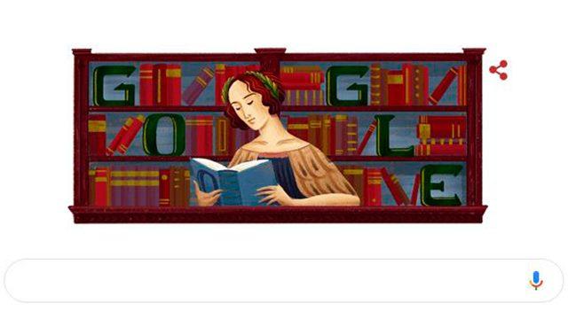 Doodle recuerda a primera mujer en obtener un doctorado