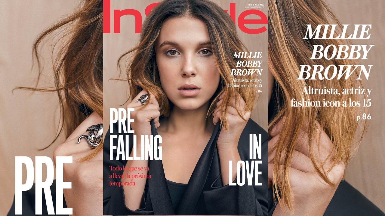 Exclusiva | Millie Bobby Brown llega a la portada julio/agosto de InStyle México
