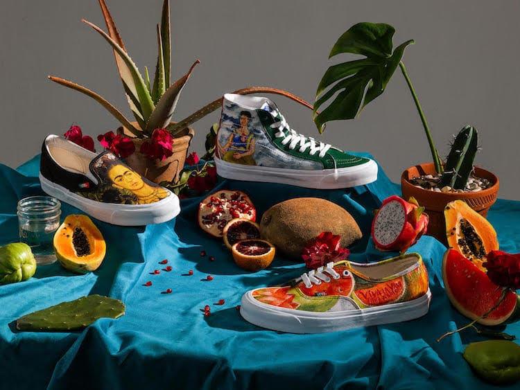 Vans presenta una colección de tenis en homenaje a Frida Kahlo