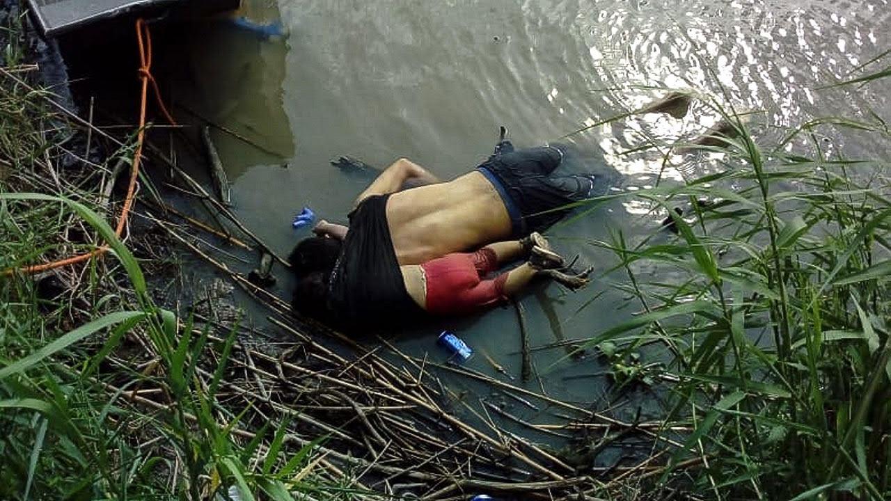 Regresan a El Salvador cuerpos de padre e hija fallecidos en frontera