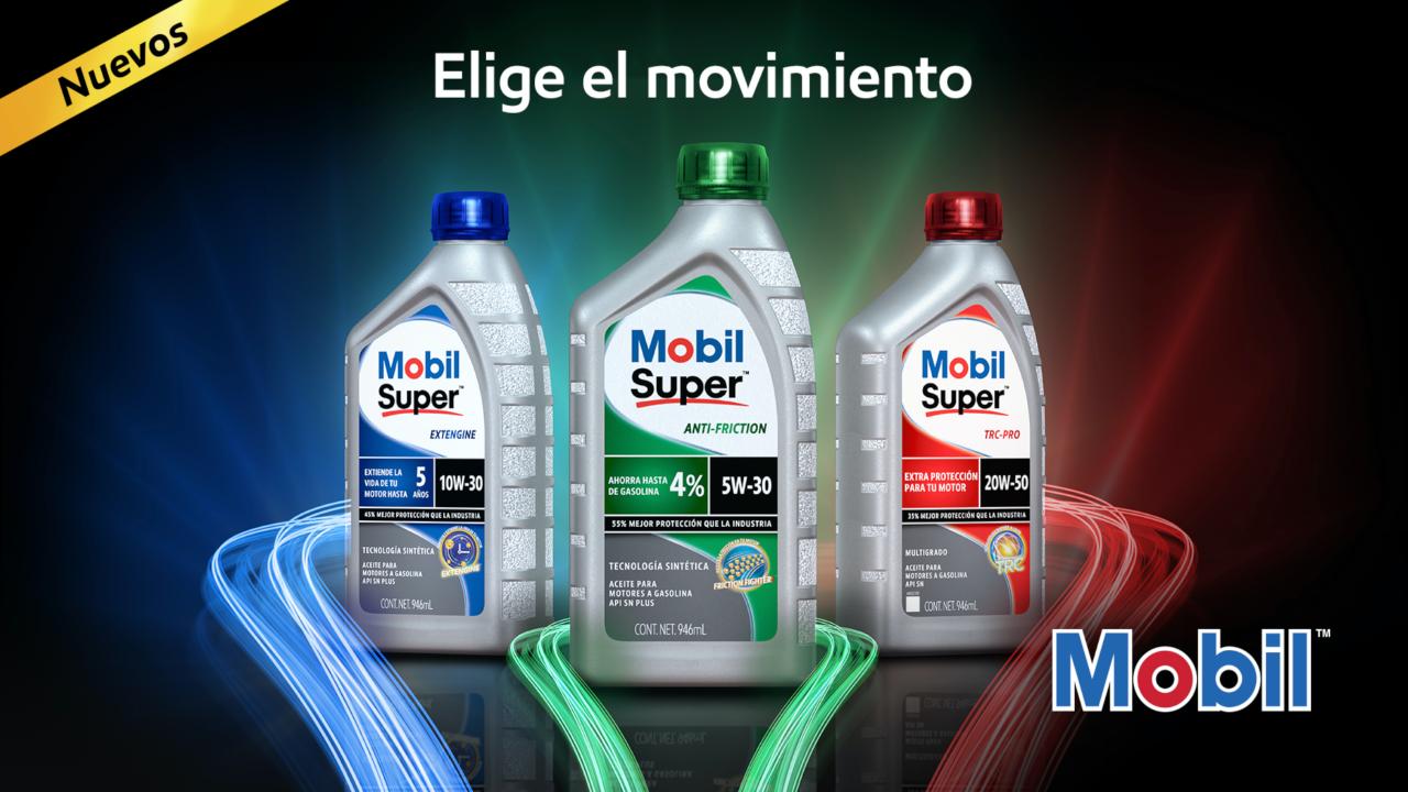 Mobil evoluciona lubricantes en México con tecnología sintética