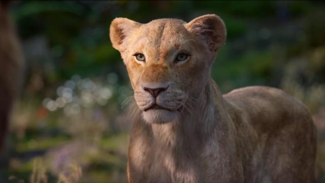 Beyoncé El rey león voz