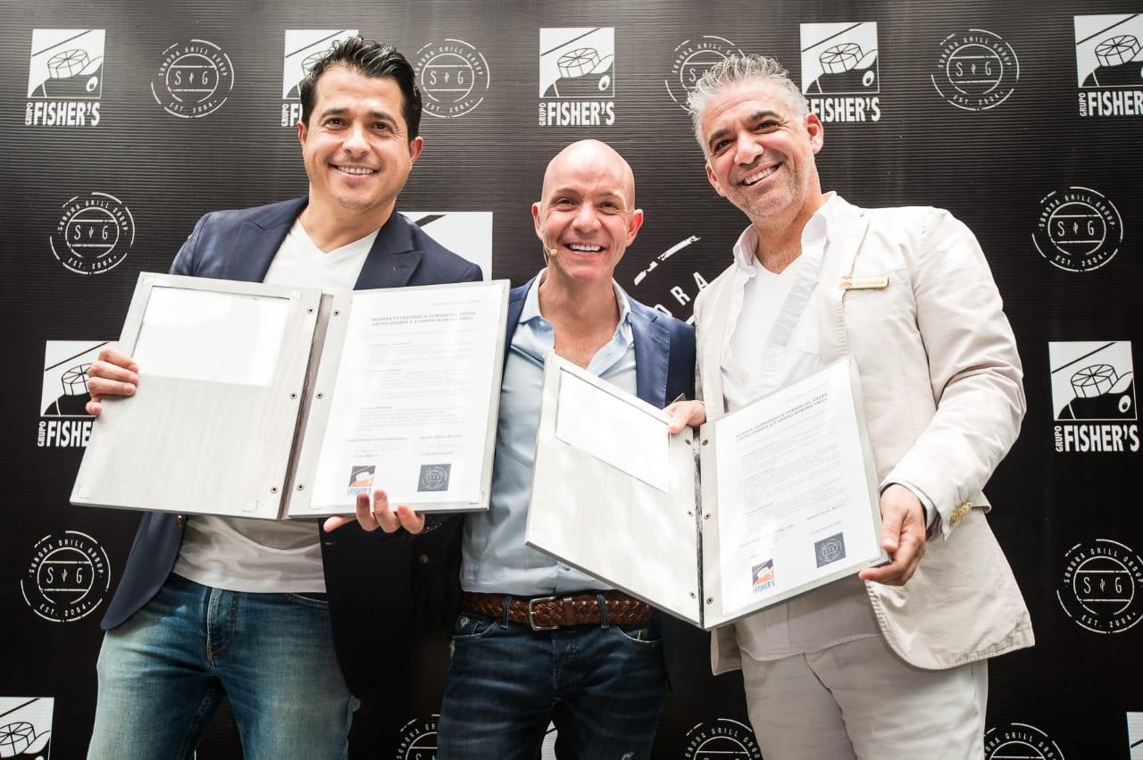Fisher's y Sonora Grill se unen para crear una nueva marca