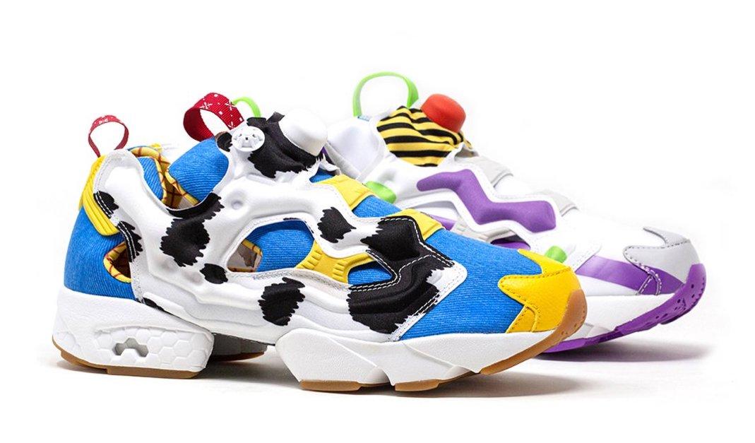 Reebok crea tenis inspirados en 'Woody' y 'Buzz Lightyear'