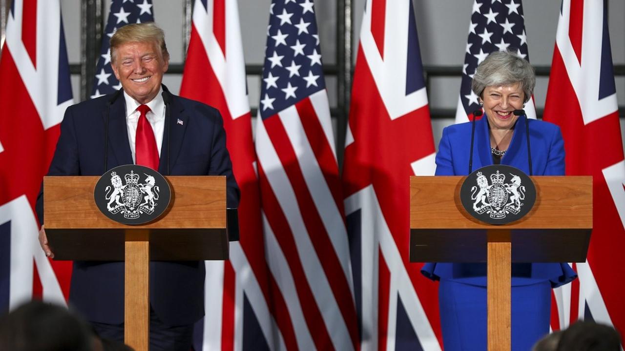 Trump promete un acuerdo 'fenomenal' con Reino Unido tras el Brexit
