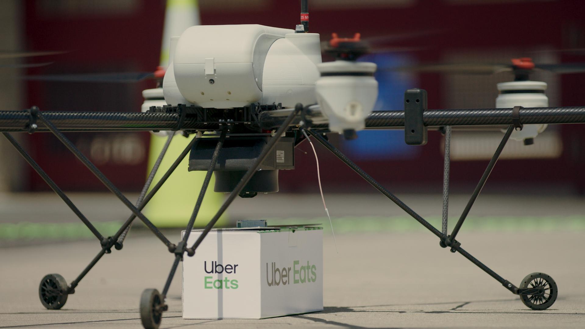 Uber Eats entregará Big Macs con sus drones