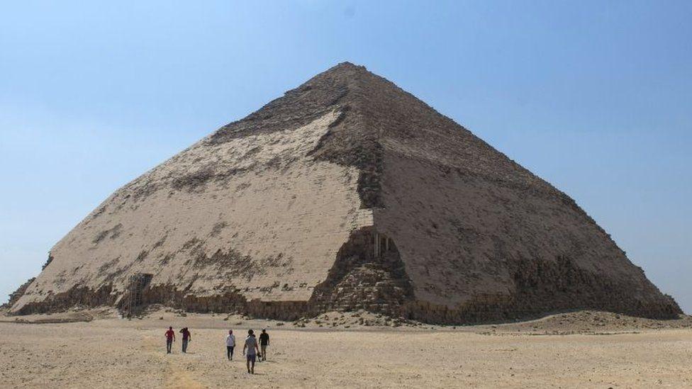 En Egipto abren al turismo una pirámide de 4,600 años de antiguedad