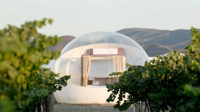 Campera hotel burbuja | Los hoteles más exóticos en México