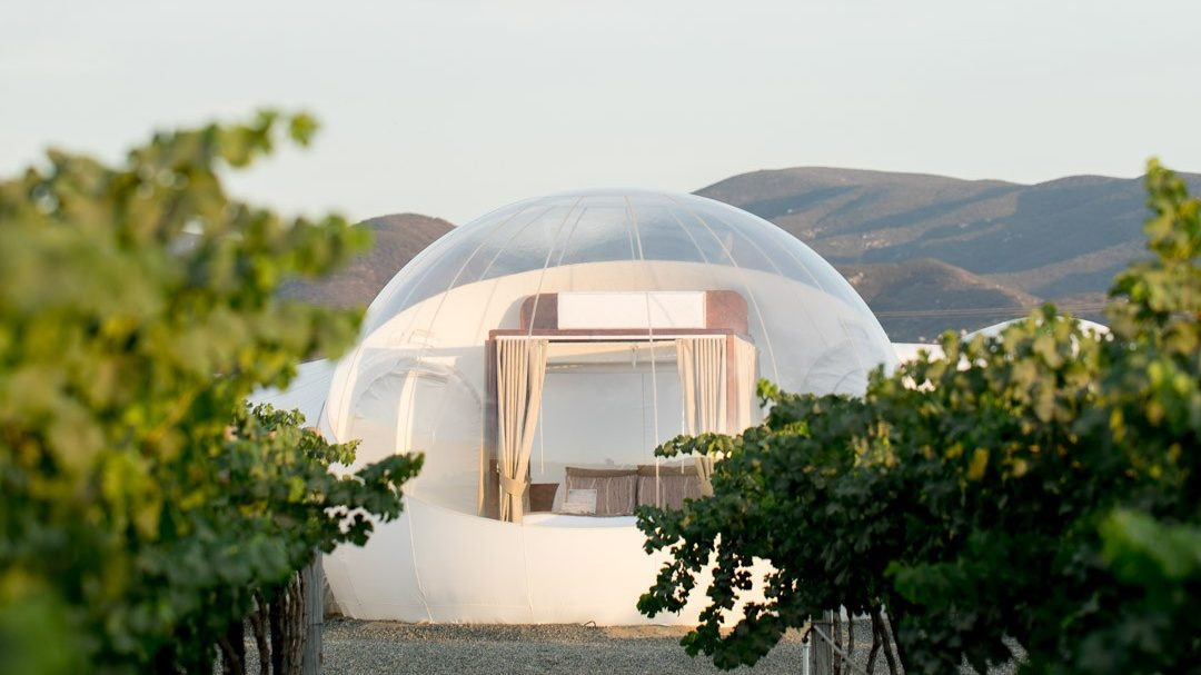 ¿Te atreverías a dormir en una burbuja con techo de estrellas?