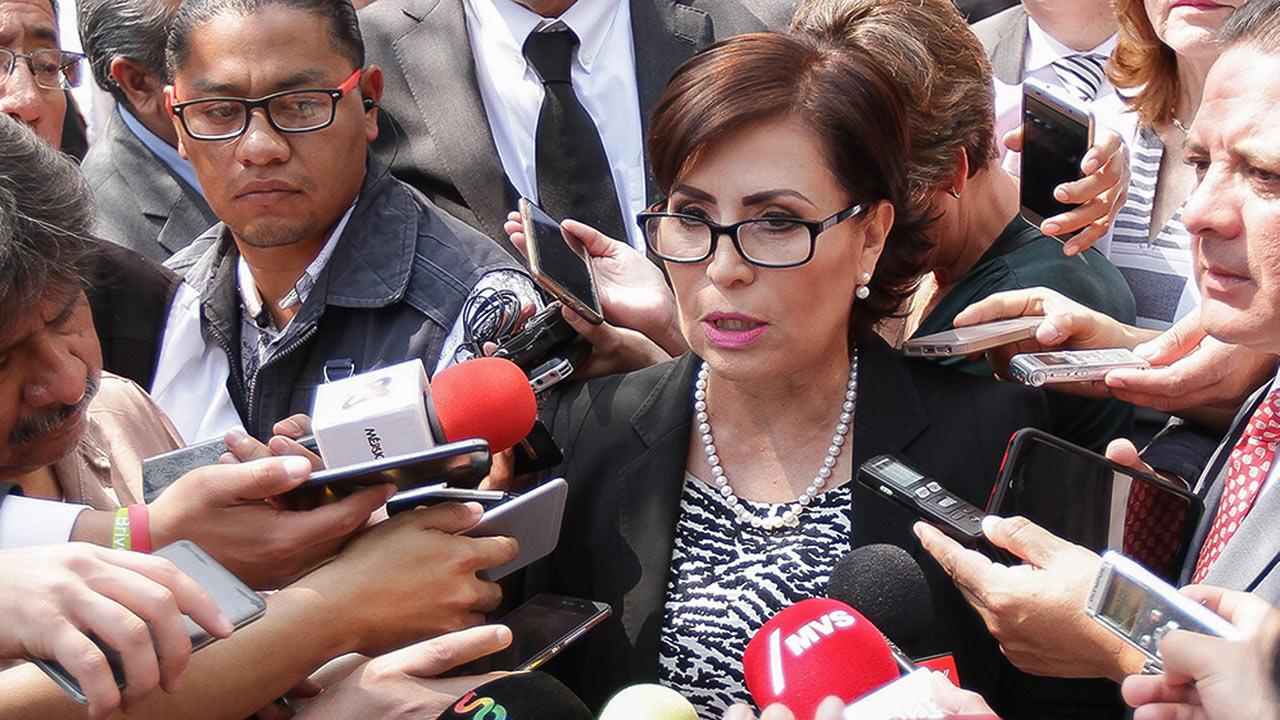 Rosario Robles no se declarará culpable por 'Estafa Maestra'