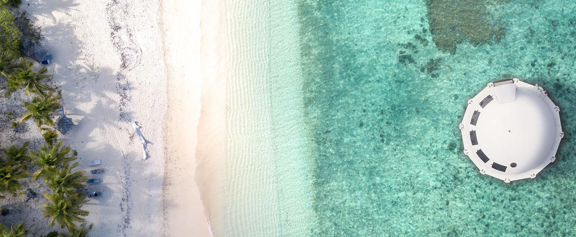 hospedaje de lujo flotante