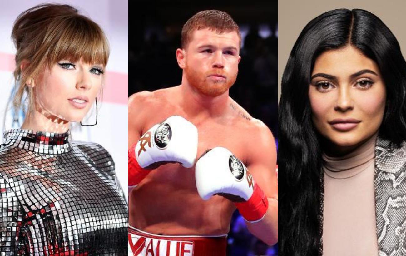 Taylor Swift, Kanye West y 'El Canelo', entre las celebridades mejor pagadas en 2019