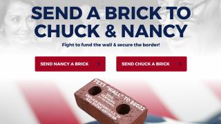 campañas muro ladrillo