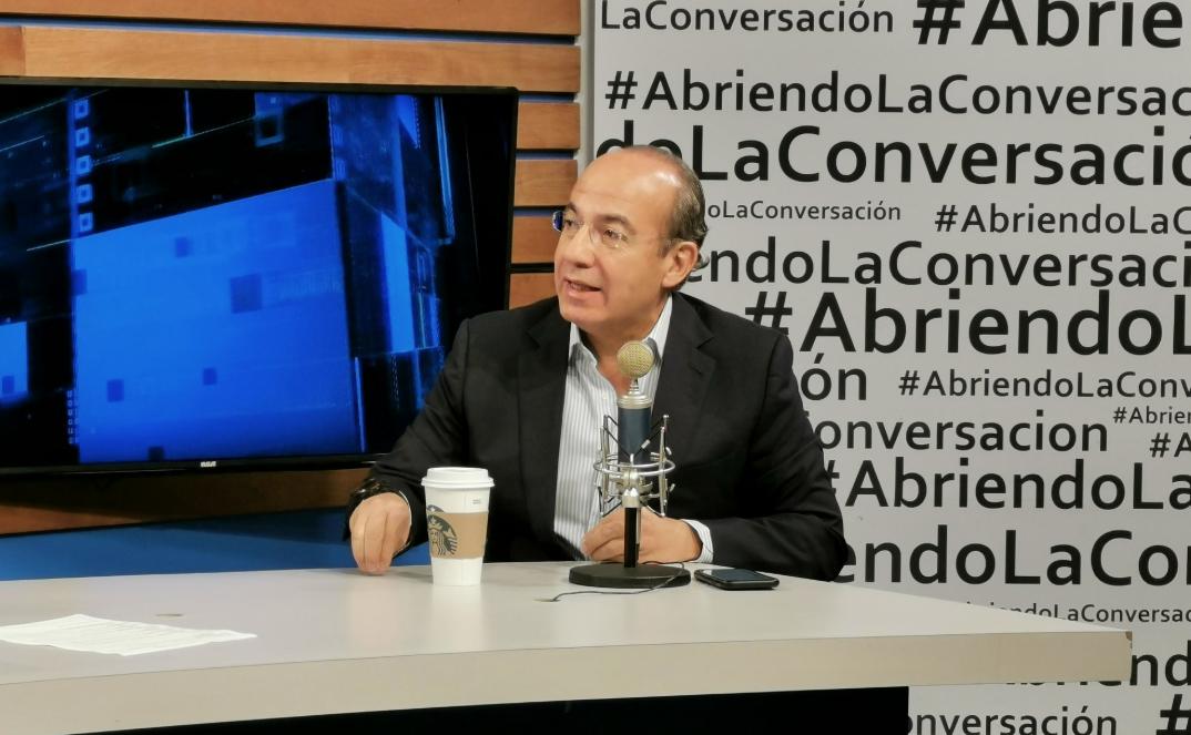 'Si me van a acusar, que traigan pruebas o se callen': Calderón