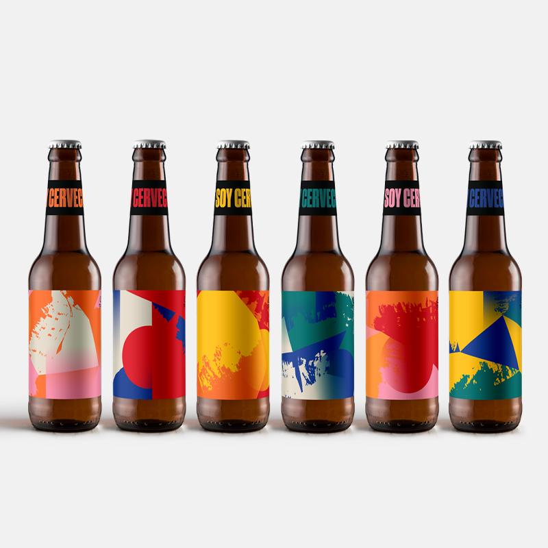 Foto. Seis nuevas etiquetas por el Día de la Cerveza. Foto: Cerveceros de México.
