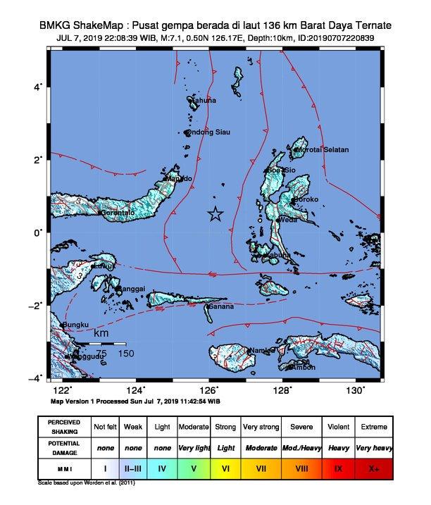 Indonesia emite alerta de tsunami