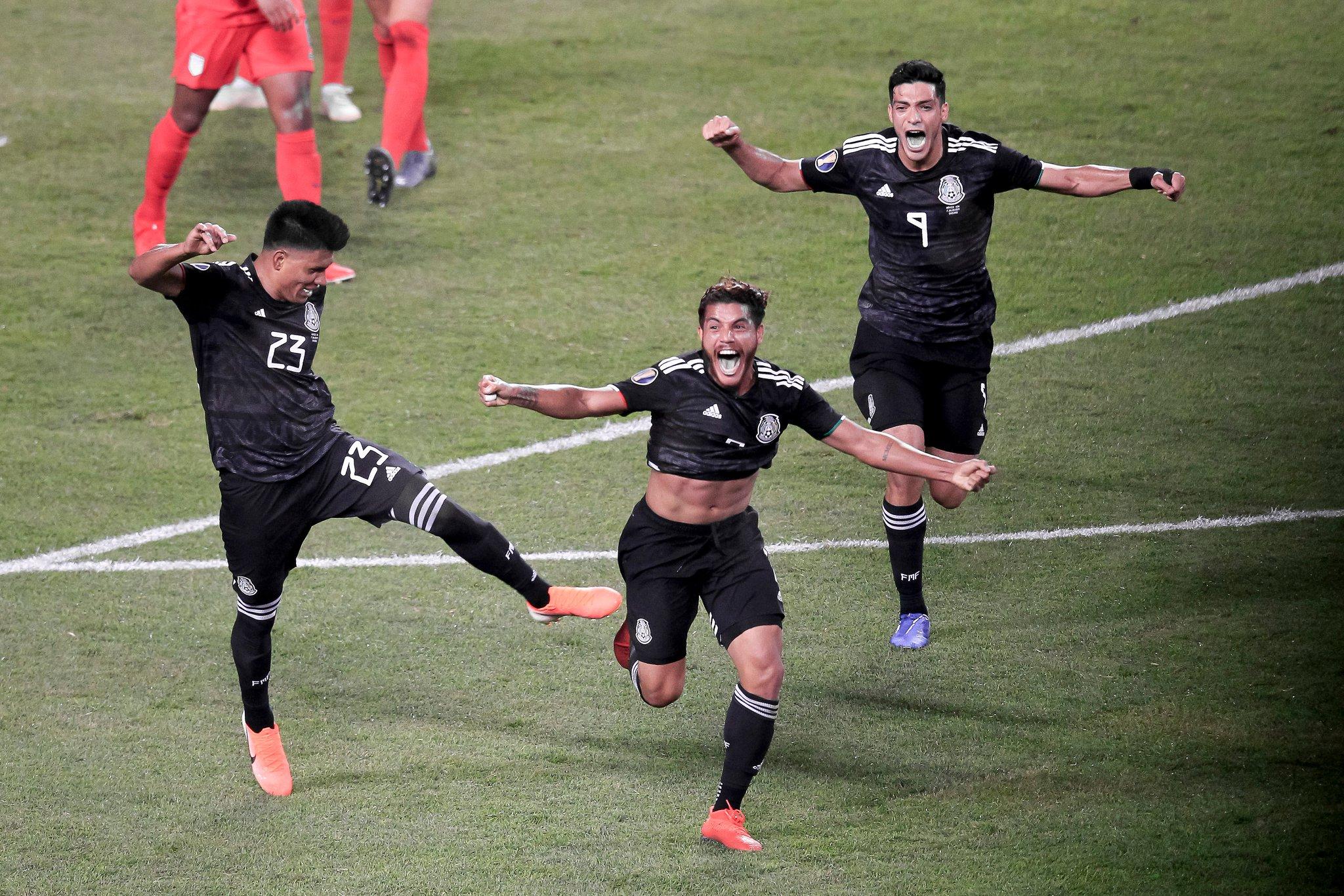 México derrota a Estados Unidos en Copa Oro