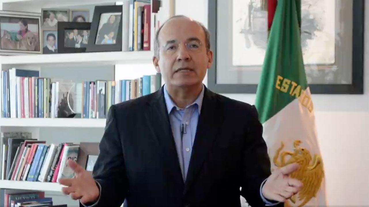 Felipe Calderón Mexico Libre