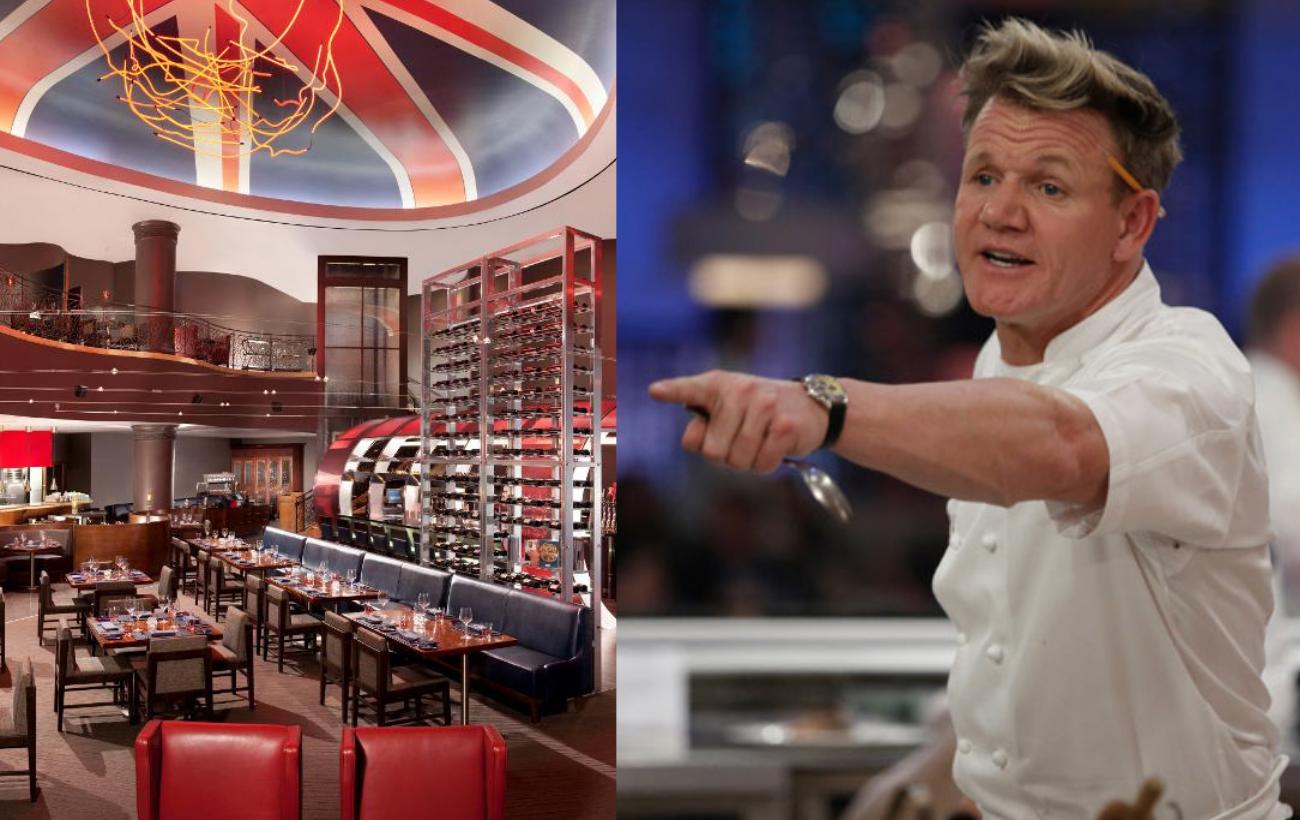 Gordon Ramsay expande su imperio en EU con 100 nuevos restaurantes