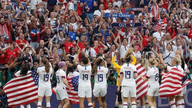 Copa del Mundo de fútbol femenil. Foto. Reuters.