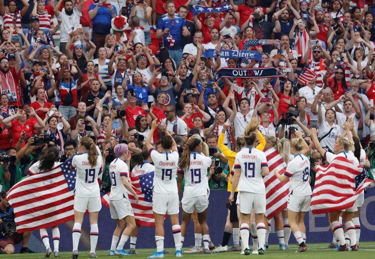 EU derrota a Holanda en Copa del Mundo de fútbol femenil
