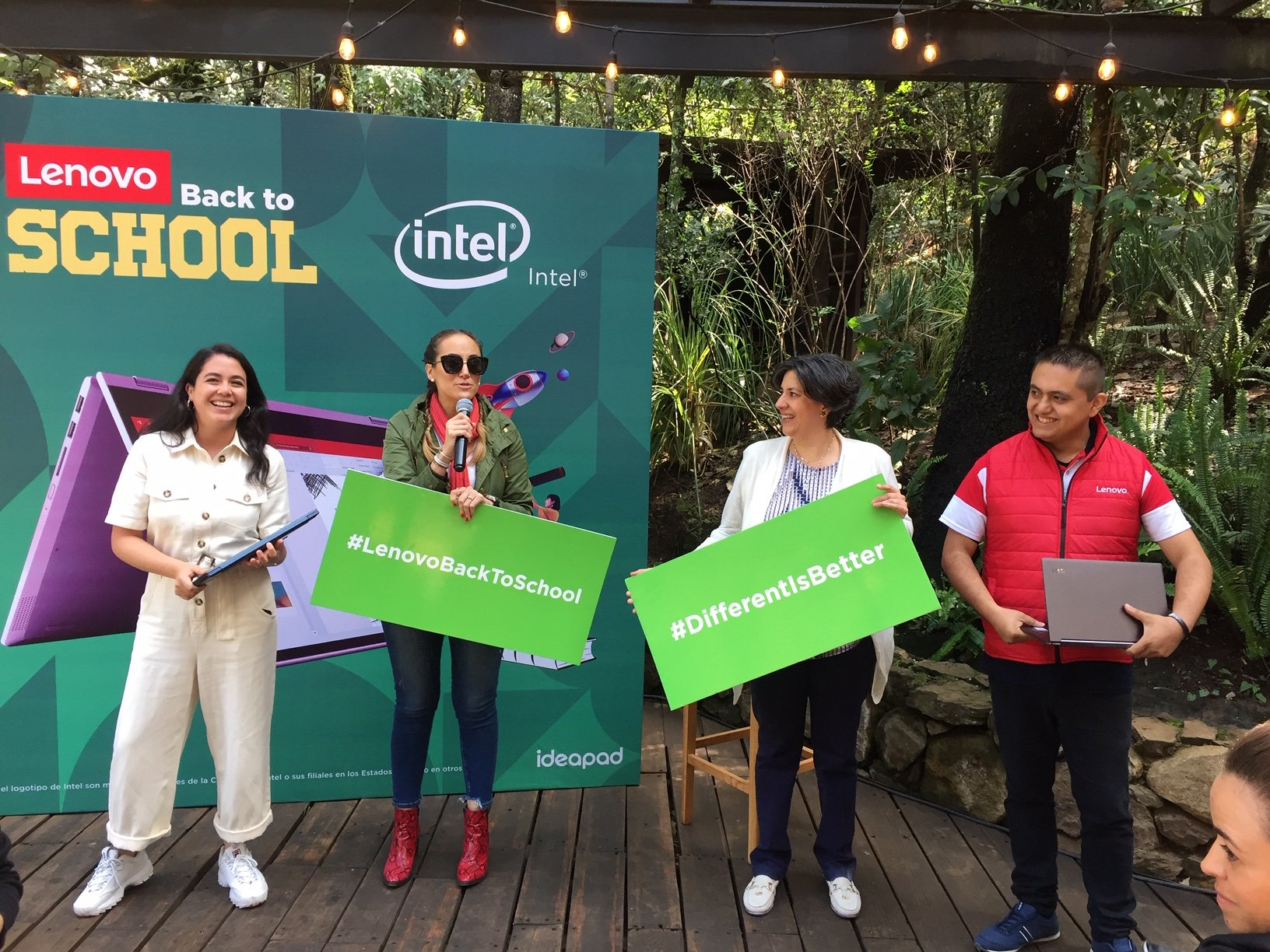 Lenovo presenta su nueva línea y equipos para regreso a clases
