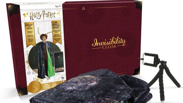 capa de invisibilidad Harry Potter