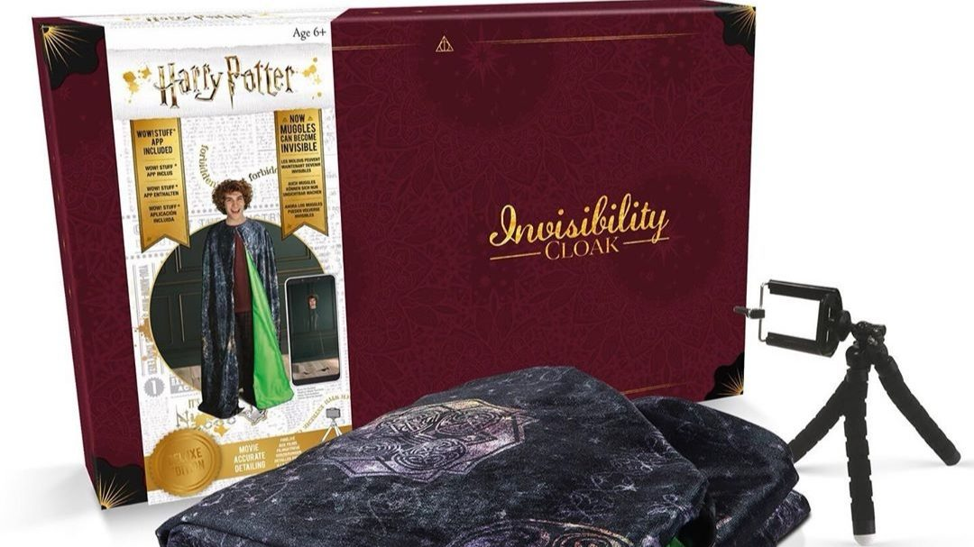capa de invisibilidad Harry Potter