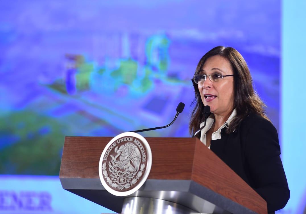 Nahle presume alta rentabilidad de nueva refinería en Dos Bocas
