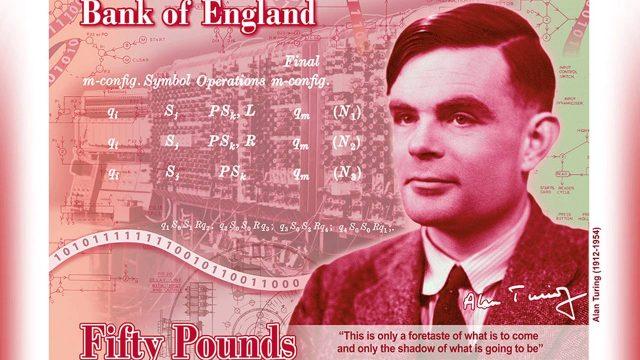 El científico Alan Turing aparecerá en un nuevo billete inglés