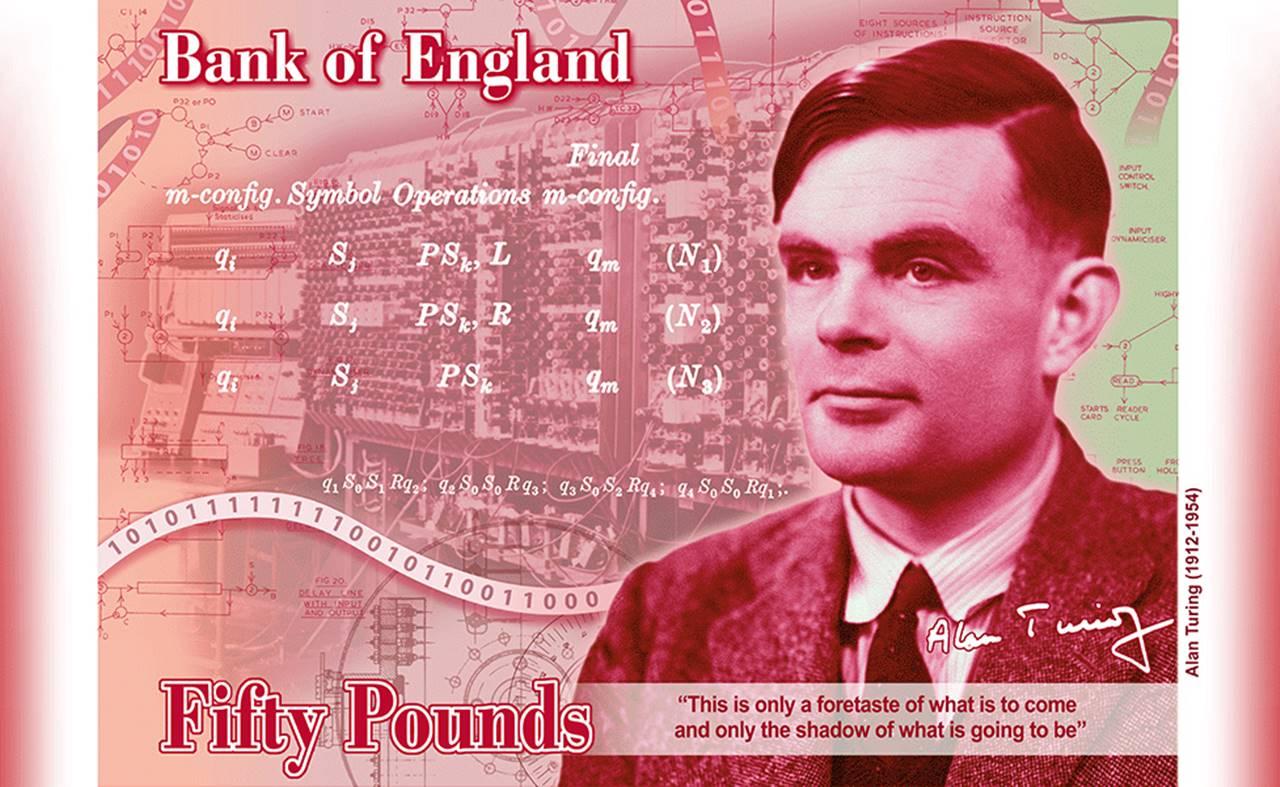 Reivindican al padre de la informática: Alan Turing aparecerá en el billete de 50 libras