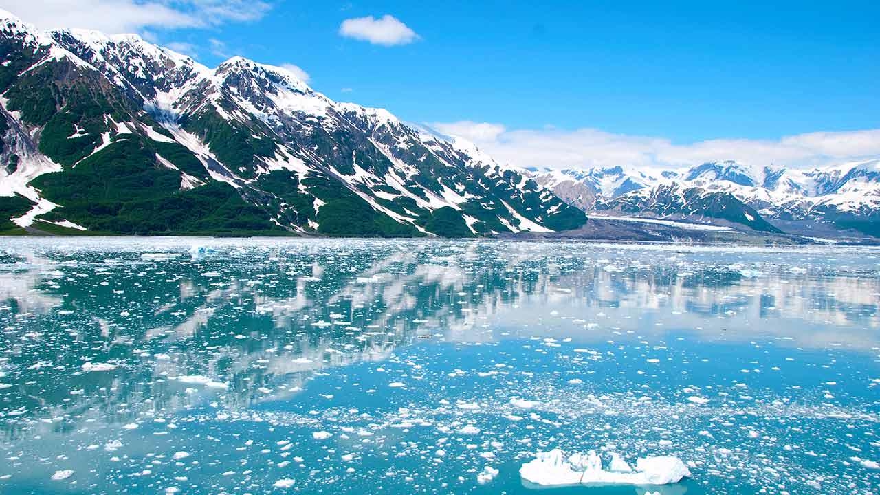 Ola de calor en Alaska provoca incendios y derrite glaciares