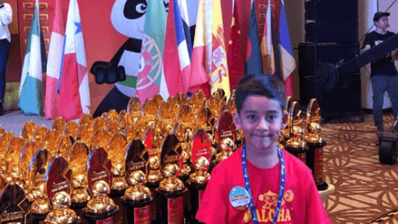 Niños mexicanos dominan campeonato mundial de cálculo mental
