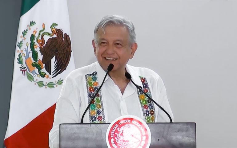 Me mandaron un grupo a provocar: López Obrador