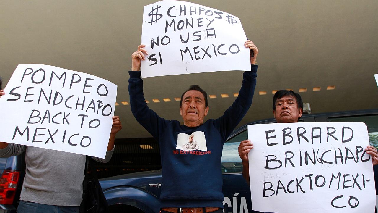 Abogado busca repatriación de 'El Chapo' y su dinero