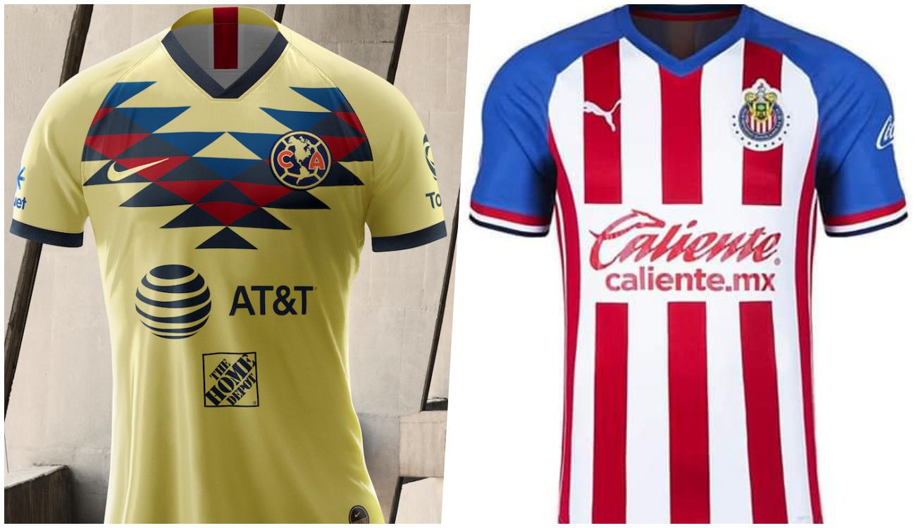 América y Chivas presentan uniforme para próximo torneo