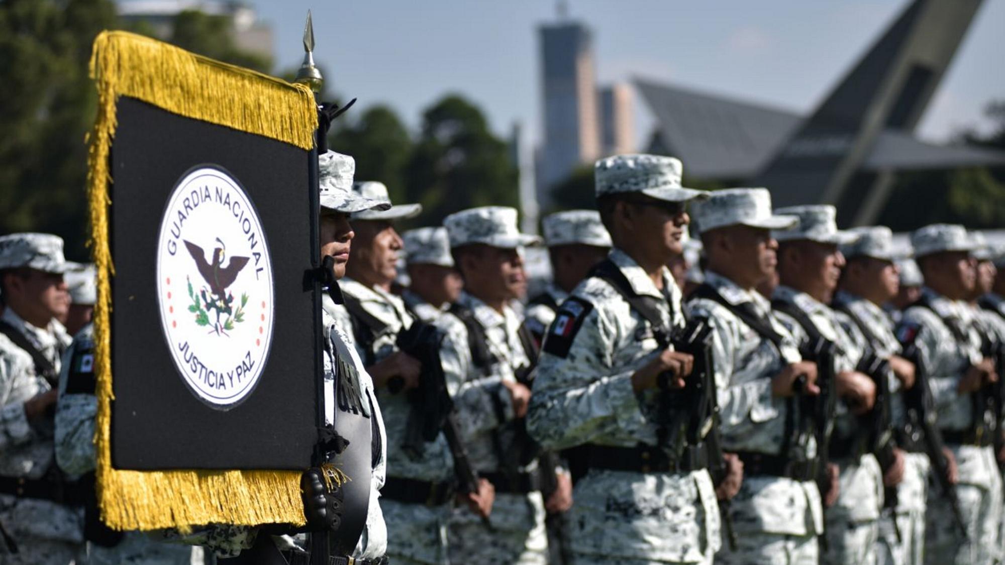 Durazo reporta reducción de militares en Guardia Nacional