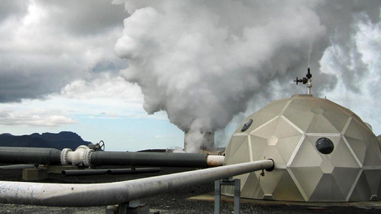 Científicos de Islandia están convirtiendo dióxido de carbono en roca