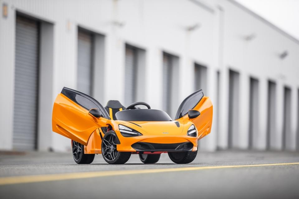 McLaren 720S, el auto eléctrico de lujo para los más pequeños