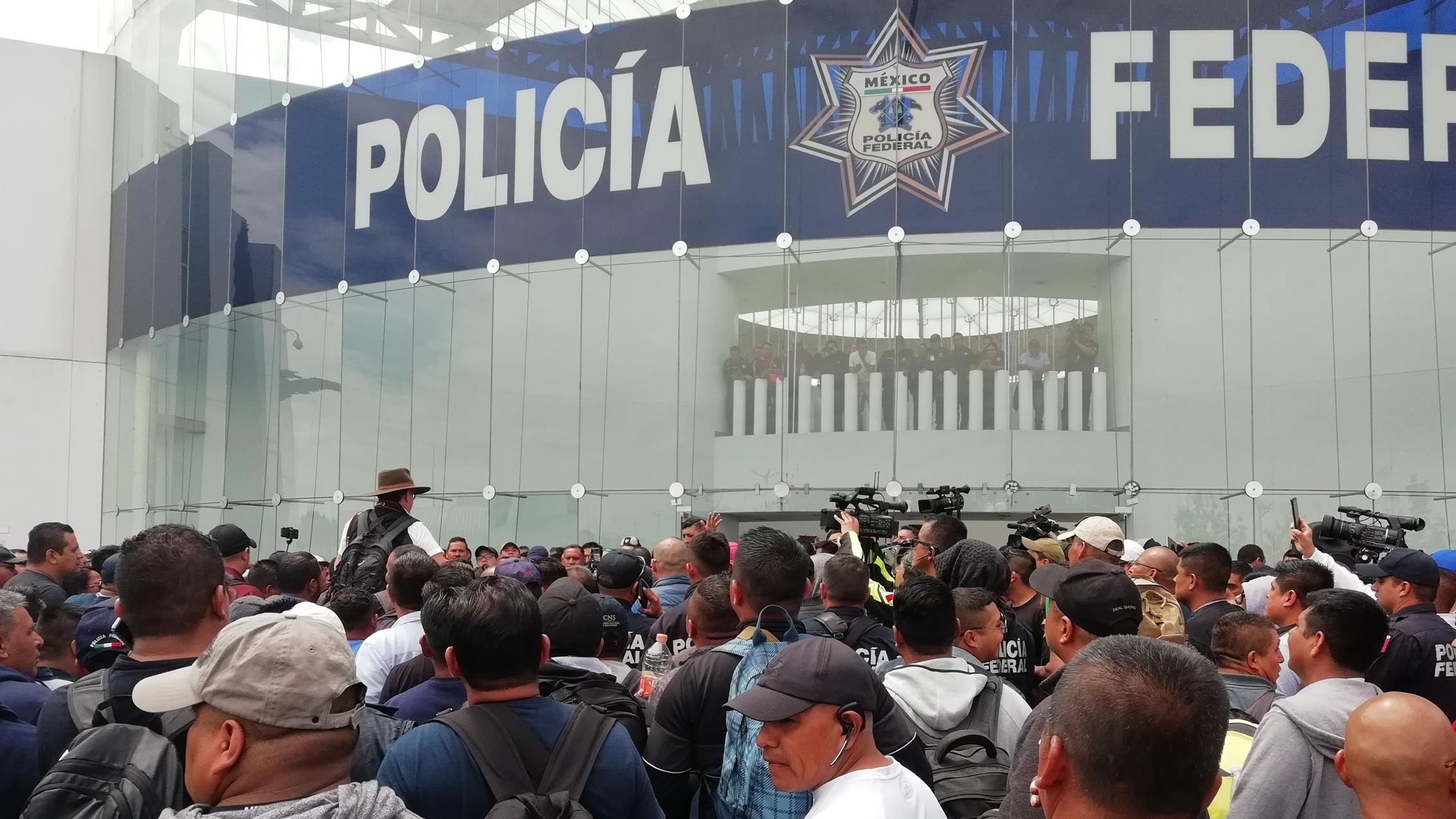 Coordinadora de Guardia Nacional promete atender pliego de policías federales
