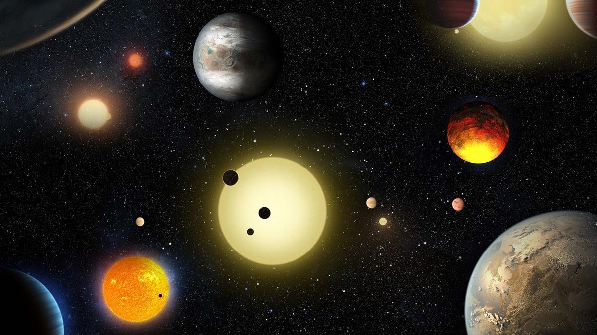 NASA revela mapa de 4,000 planetas descubiertos más allá del sistema solar