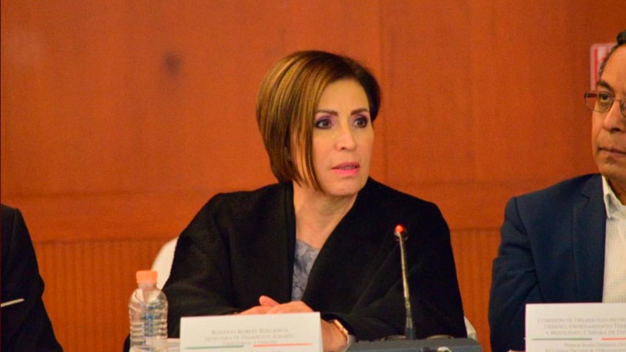 Rosario Robles consigue suspensión contra cualquier orden de aprehensión