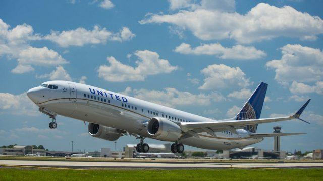 Boeing 737 max 8 united