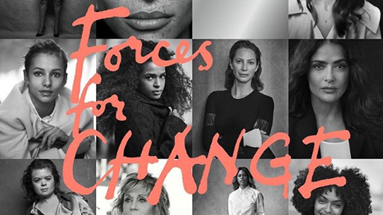 Salma Hayek, destacada por Meghan Markle en la portada de Vogue