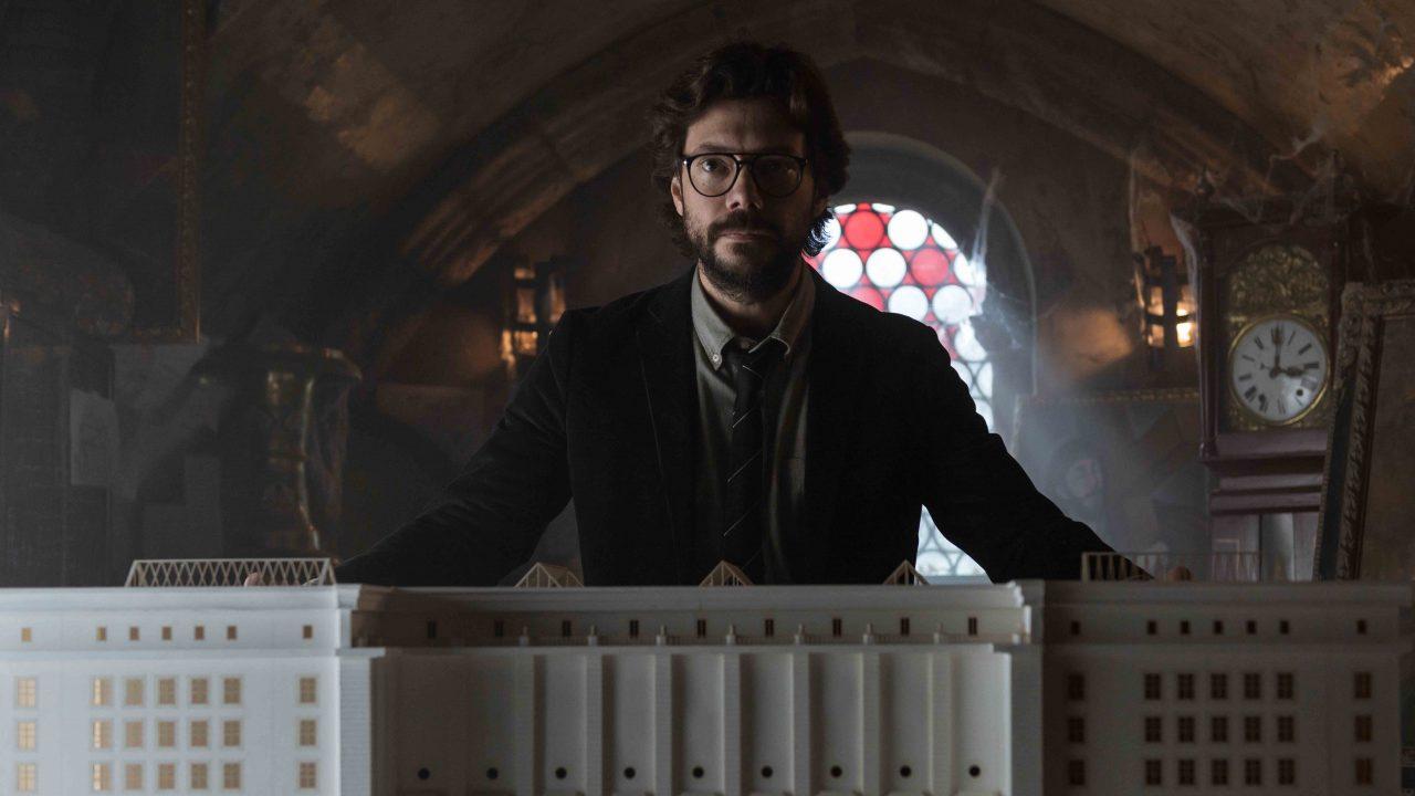 Álvaro Morte explica la metamorfosis de 'El Profesor'