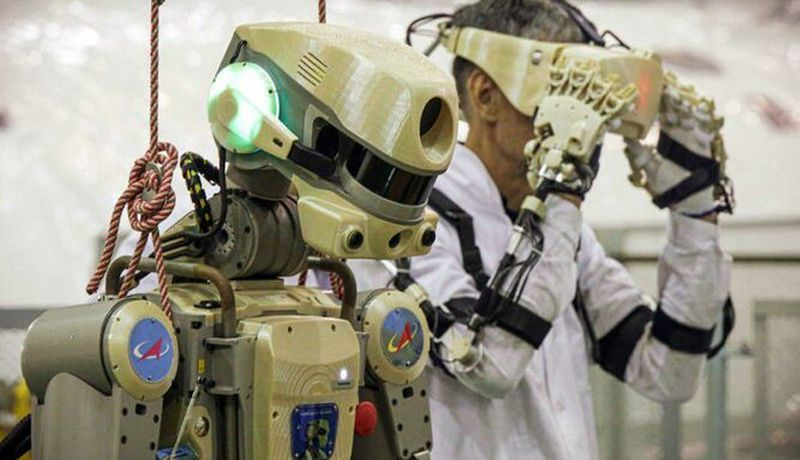 Primer androide cosmonauta ruso emprende misión espacial